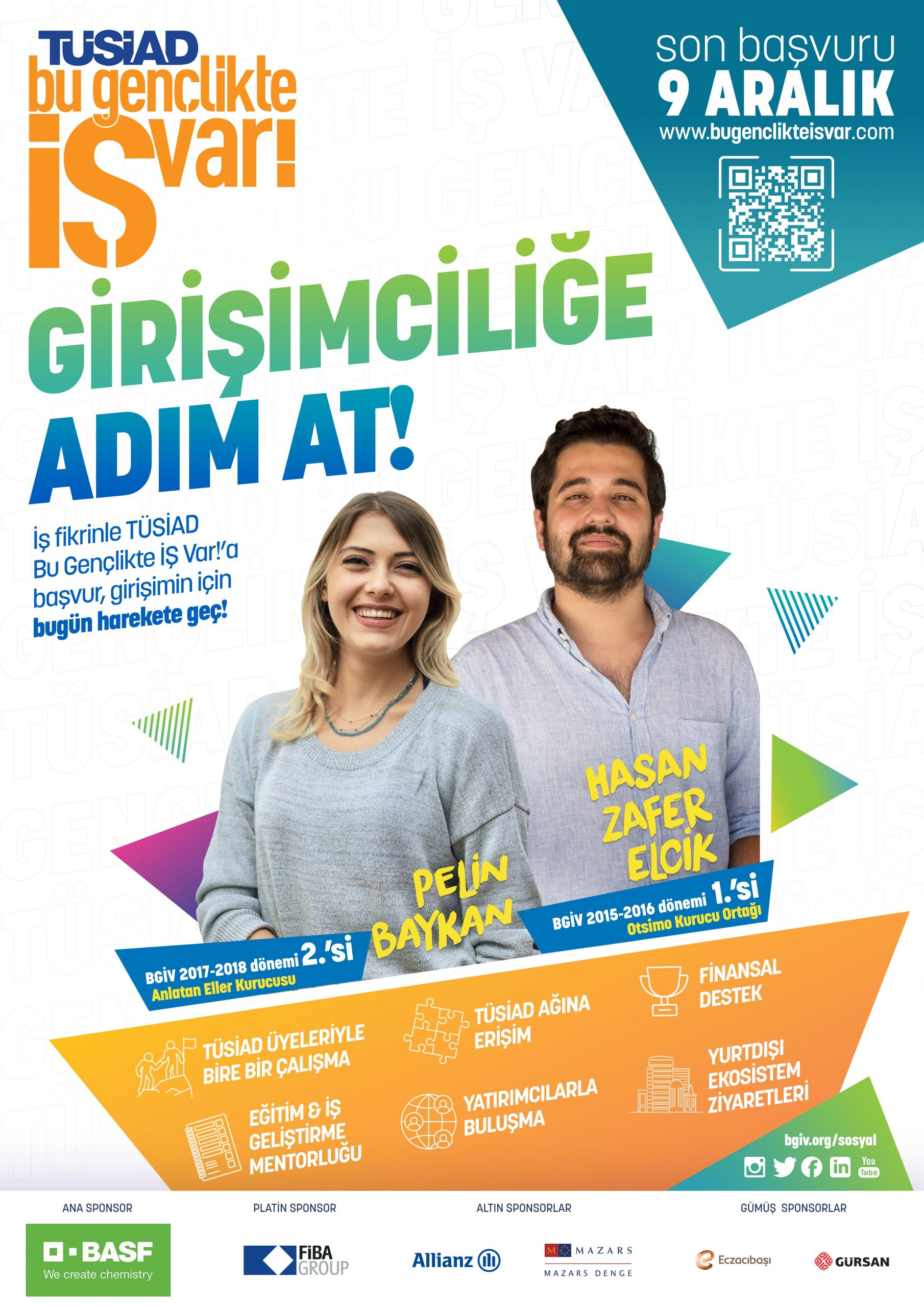 """""""TÜSİAD Bu Gençlikte İŞ Var!"""" Başvuruları Açıldı"""